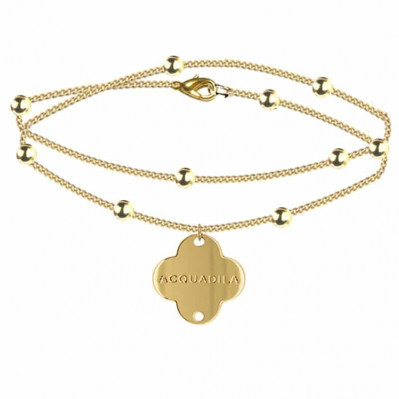 bracelet chaine nuage doré
