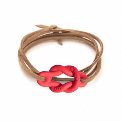 Bracelet Love Me rouge