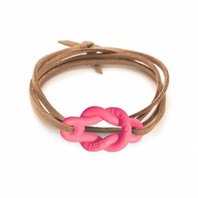 Bracelet Love Me corail