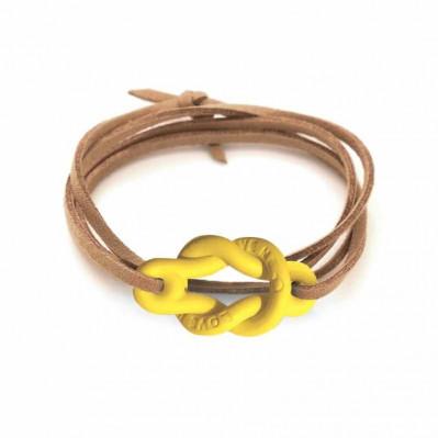 Bracelet Love Me jaune