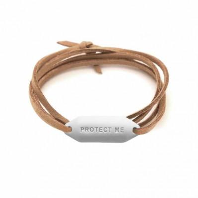 Bracelet pare-battage Protect Me blanc
