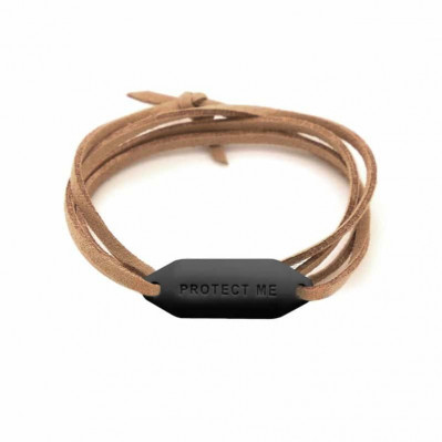 Bracelet pare-battage Protect Me noir