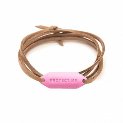 Bracelet pare-battage Protect Me rose