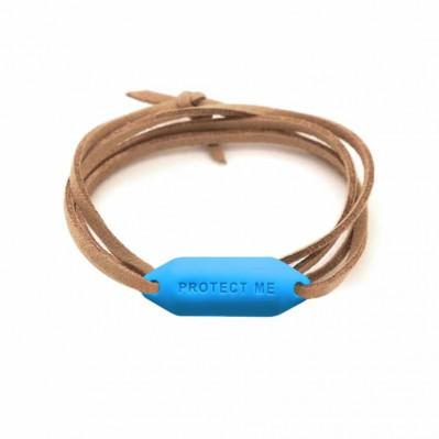 Bracelet pare-battage Protect Me indigo