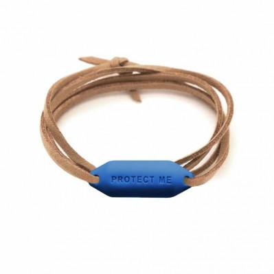 Bracelet pare-battage Protect Me marine