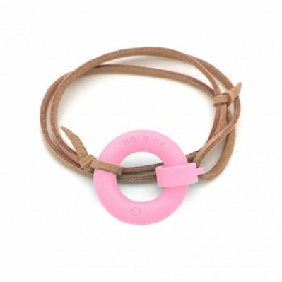 Bracelet d'été Bouée Hold Me rose