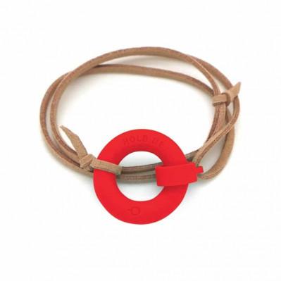 Bracelet d'été Bouée Hold Me rouge