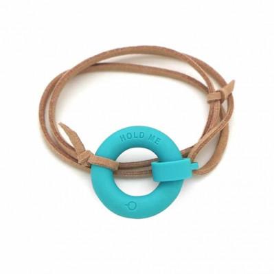 Bracelet d'été Bouée Hold Me turquoise