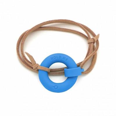 Bracelet d'été Bouée Hold Me indigo