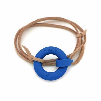 Bracelet d'été Bouée Hold Me marine