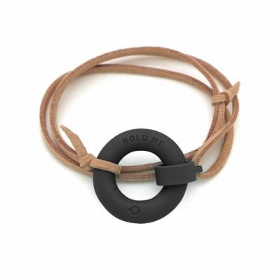 Bracelet d'été Bouée Hold Me noir