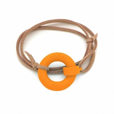 Bracelet d'été Bouée Hold Me orange