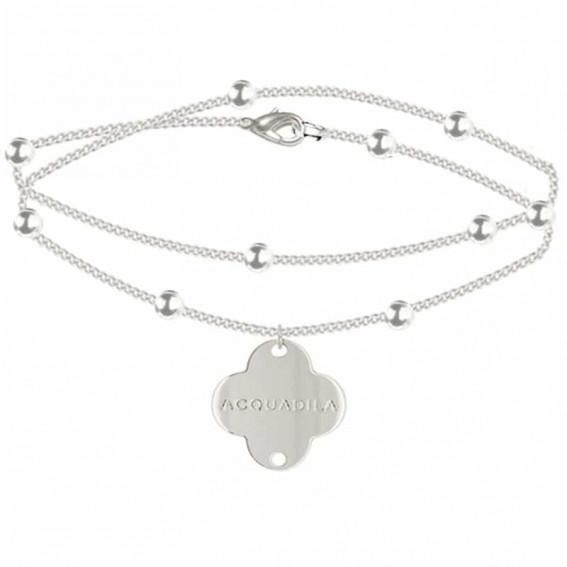 bracelet chaine nuage argent