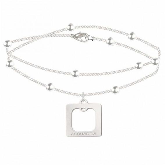 bracelet chaine square argent