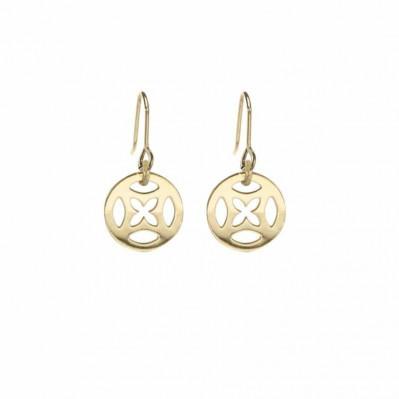 Boucles d'oreilles Mantra or