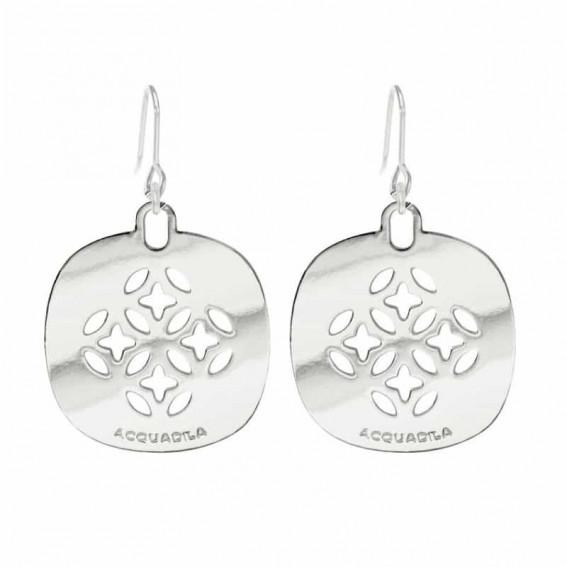 Boucles d'oreilles Mandala argent