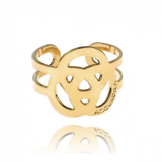 Bague Trinity or