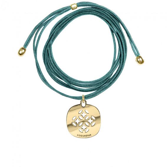 Tour de cou fil mini Mandala doré