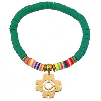 Bracelet Massai Croix Grecque