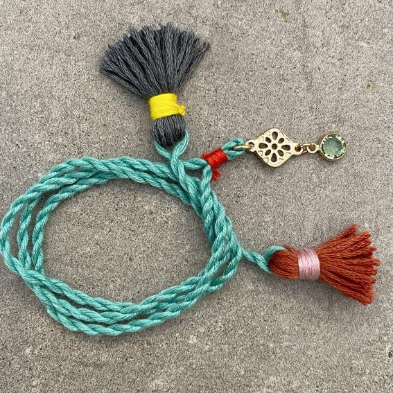 Bracelets Tibet en coton