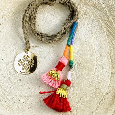 Bracelets Tibet Elephant en coton