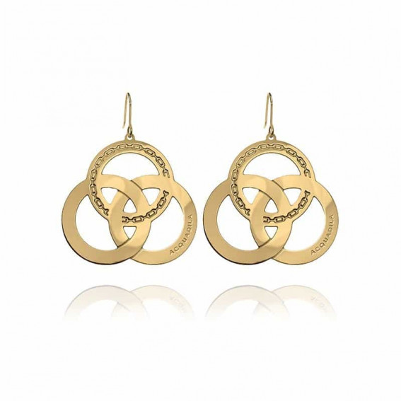 Boucle d'oreilles Trinity - doré