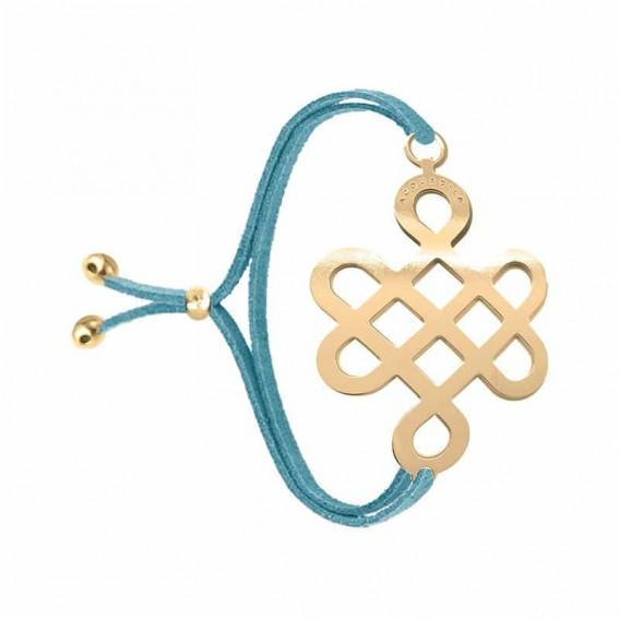 Bracelet infini tatouage Opium doré